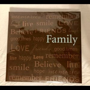 """Pioneer Other - Pioneer """"Family"""" 12x12 Top Load Scrapbook 20 Pages"""